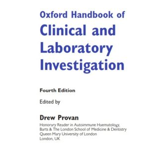 ( Oxford Handbook of Clinical and Laboratory Investigation 4th Edition (2018